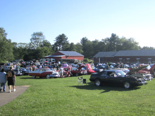 Klem's hosts Wednesday Night Cruising for Charity during the summer.