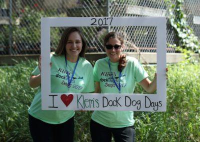 Klem's staff having some fun at Dockdogs Days.