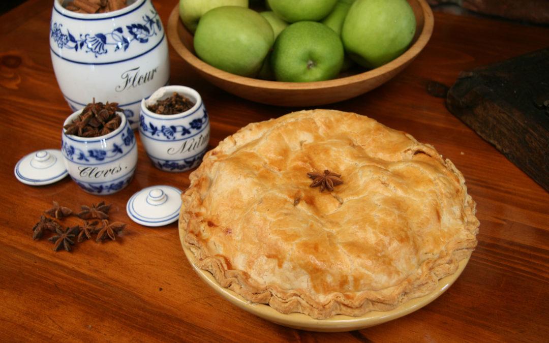 Salem Cross Inn's Award Winning Apple Pie Recipe