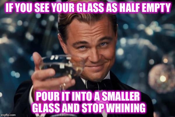 Business Meme of the Week: Glass Half Empty